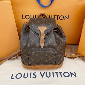 💎✨MINI BACKPACK✨💎 Montsouris Louis Vuitton Auth!
